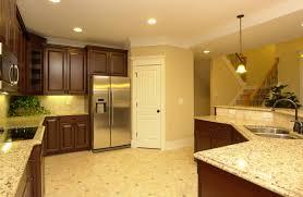 Tile Kitchen Floor Corner Pantry Stainless Steel Appliances