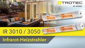 infrarot heizstrahler ir 3010 3050