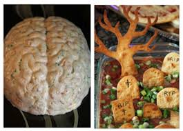 Vomiting Pumpkin Dip by Top 10 Spooky Halloween Dips And Appetizers Top Inspired