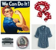 Rosie The Riveter Halloween Tutorial by 14 Best Halloween Images On Pinterest Halloween Ideas Costume