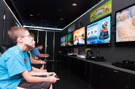 GameTruck Jacksonville - Video Games, LaserTag, BubbleSoccer, And ... Levelup Gaming At The Next Level Game Truck Birthday Party Orange County Irvine Ca Ideas On Food Touch A The Junior League Of Durham And Counties Media My Truck Google We Cant Get Enough Arms Splatoon 2 On New Nintendo Video Parties In Indianapolis Indiana Gallery Boxfoiverscouninlanmpirevideogameparty