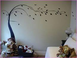Tree Wall Painting Stencils I Like This For My Stair Case Walls