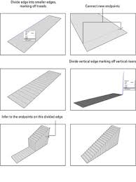 how to make stairs in google sketchup 8 using subdivided