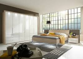 schlafzimmer komplett bett kleiderschrank spiegel nachttische teil massiv 21073