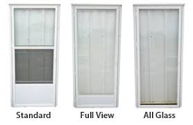 Storm Doors for Manufactured Housing