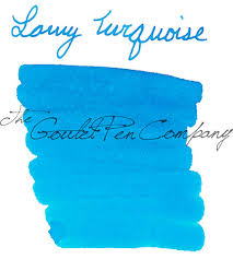 Caran DAche Hypnotic Turquoise Ink Review