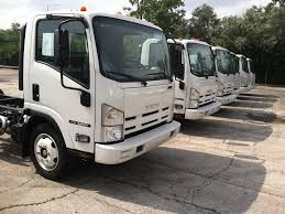 2017 ISUZU NPR GAS CAB CHASSIS TRUCK FOR SALE #288007