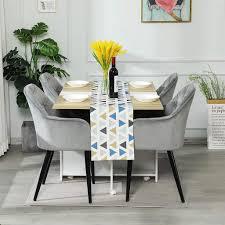 polsterstuhl 2er esszimmerstuhl küchenstuhl wohnzimmerstuhl sitzfläche aus samt esszimmerstühle mit armlehne metallbeine polstersessel stuhl für