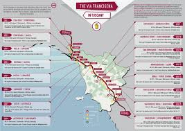 Chinese Wine Map Via Francigena In Tuscany All You Need To Know