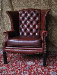 100 Burgundy Rocking Chair S Lovely Leather Winged Armchair Design And Comfy Tufted