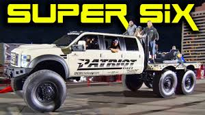 100 Patriot Truck SUPER SIX 6x6x6 MONSTER Diesel YouTube
