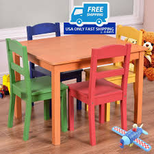 5 Pieces Kids Table Chair Set Kids Study Table Chairs Details About Kids Table Chair Set Multi Color Toddler Activity Plastic Boys Girls Square Play Goplus 5 Piece Pine Wood Children Room Fniture Natural New Hw55008na Schon Childrens And Enchanting The Whisper Nick Jr Dora The Explorer Storage And Advantages Of Purchasing Wooden Tables Chairs For Buy Latest Sets At Best Price Online In Asunflower With Adjustable Legs As Ding Simple Her Tool Belt Solid Study Desk Chalkboard Game