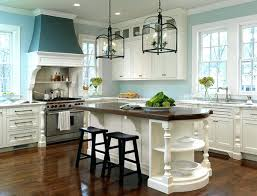 light blue kitchen walls cabinets with oak subscribed me