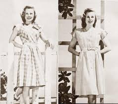 1940s fashion u2013 summer frocks of 1945 glamourdaze