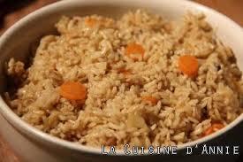 recette riz complet la cuisine familiale un plat une recette