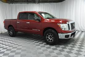 Pre-Owned 2018 Nissan Titan Crew Cab SV 4x4 Truck In Wichita ...