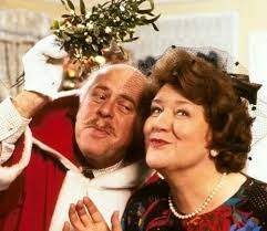 Richard Clive Swift And Hyacinth Bucket Patricia Routledge Under The Mistletoe