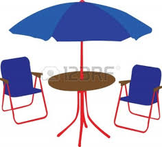 Beach Chairs Umbrellas Clipart 31 Patio Recliner Lounge Chair