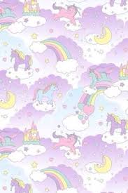 Pastel Unicorns Rainbows Discover More About Lady Marshmallow