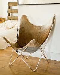Butterfly Chair Replacement Cover Pattern by Custom Hardoy Butterfly Chair Cover In Cowhide Or Leather
