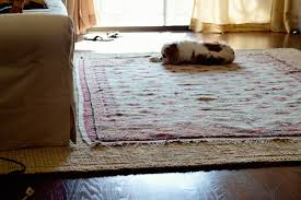Area Rugs Connecting Dining and Living Room Trying to make my