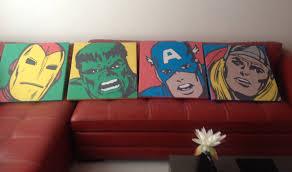 100 Pop Art Home Decor Avengers Decor Decor Decor