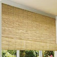 bamboo patio blinds outdoor balcony deck 72 roll up wood reed