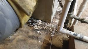 Bathtub Drain Leaking Through Ceiling by Air Conditioners In Attics Leaks Make A Big Mess