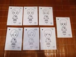 Image Is Loading SALE EXO OFFICIAL COLORING BOOK A DAY IN