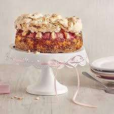rhabarberkuchen rezepte süß saurer genuss