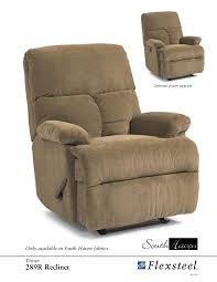 Flexsteel Power Reclining Couch by Flexsteel 289r Triton Recliner