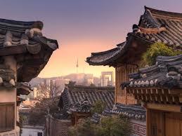 100 South Korean Houses Bukchon Hanok Village In Seoul Korea