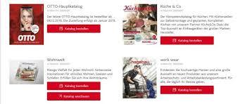 otto katalog bestellen hauptkatalog und spezialkataloge