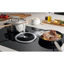 cuisiner avec l induction table de cuisson à induction avec système d aération bora basic bia