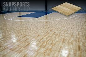 SnapSportsR Athletic Floors Introduces Their New Maple TuffShield