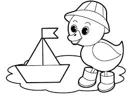 Coloring Pages Printable Hibernate Safe Free Animals Kids Activities Sheets Downloadable Set Winter Duck
