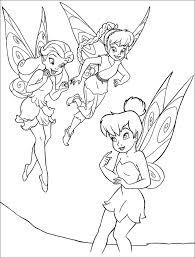 TinkerBell Fawn And Rosetta Color Page