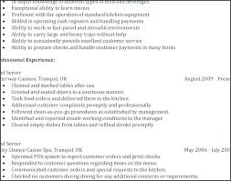 Restaurant Manager Resume Sample Unique Waiter Resumes Skills From Information