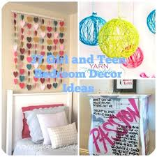 Ideas For Teenage Girls Room Decorhome Decor Craft Home Adults Tutorial