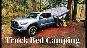 100 Truck Bed Bag Camping On The Of A 2017 Tacoma TRD Off Road YouTube