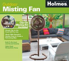 Portable Patio Misting Fans by Amazon Com Holmes Hpf1010a Nm Outdoor Misting Fan Home U0026 Kitchen