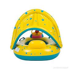 bouée siège bébé siège gonflable bateau baby float bébé flotteur toit ouvrant