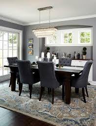 Wonderful Color Dining Table Set Furniture Grey Blue