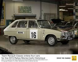 team renault classic enters four cars for the 2015 rallye monte