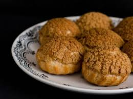 introduction to pastry choux au craquelin