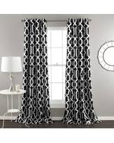 Lush Decor Curtains Canada by Panel Pair Curtains U0026 Drapes Bhg Com Shop