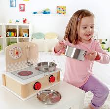 Hape Kitchen Set Australia by Hape Tabletop Cook And Grill Wooden Play Kitchen Set Buy Online