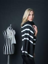 stripe cashmere wrap elaine madigan cashmere