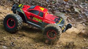 Force RC 1/8 Epidemic 4WD Monster Truck Brushless RTR | Horizon Hobby