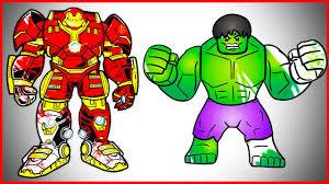 Hulk And Hulkbuster Ironmans Armor Suit